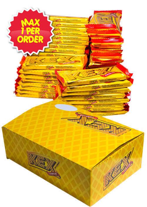 Kexchoklad 60g x 48 st MAX 1