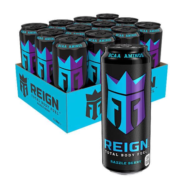 Monster Reign BCAA RazzleBerry 50cl x12