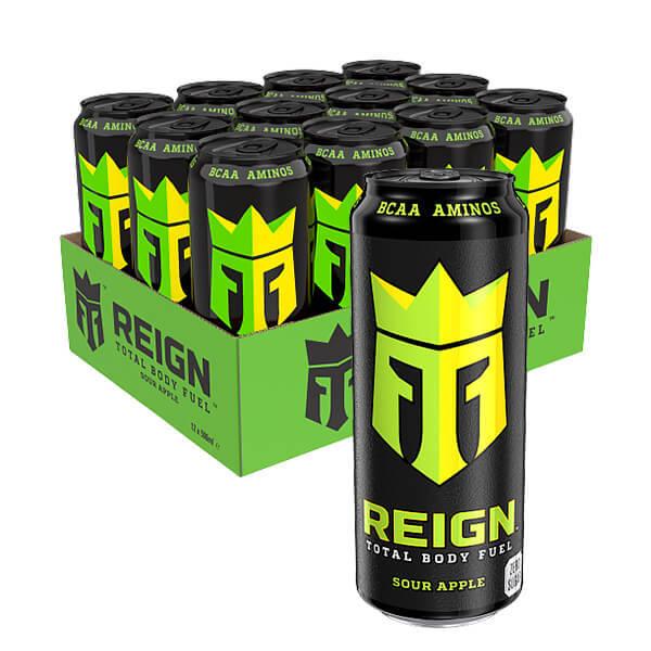 Monster Reign BCAA Sour Apple 50 cl x 12