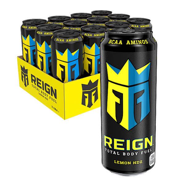 Monster Reign BCAA Lemon - 50 cl x 12 st