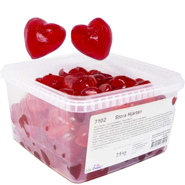 Aroma Stora Hjärtan - 2,5 kg /