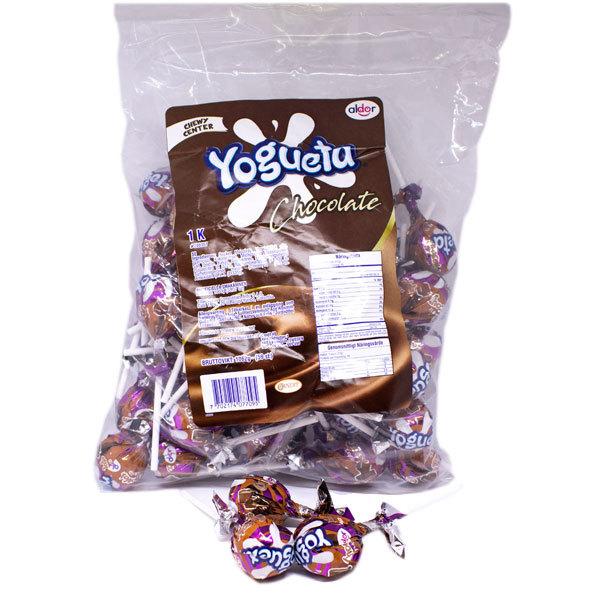 Pin Pop Yogueta Choklad - 1 kg