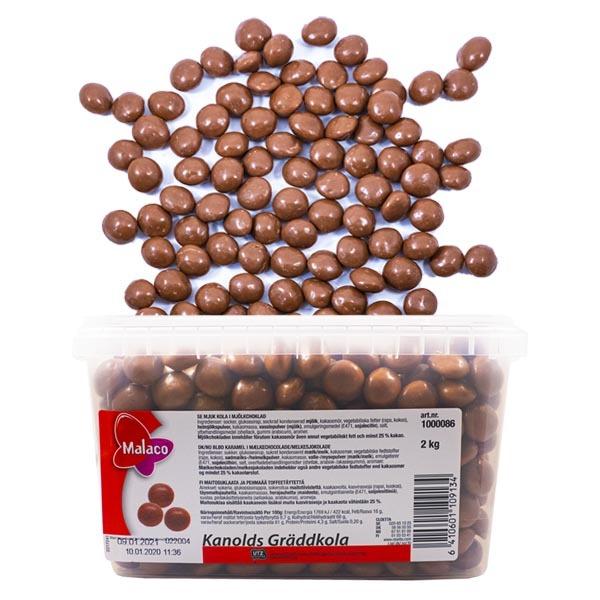 KANOLDS GRÄDDKOLA - 2 kg