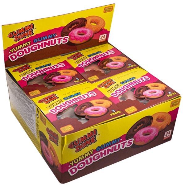 Doughnuts - Yummi Gummi - 23g x 24 st