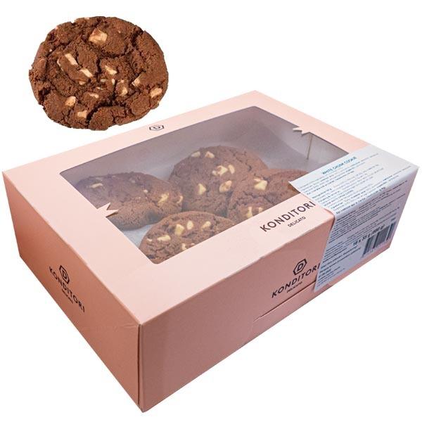 Delicato White Chunk Cookie - 16 st