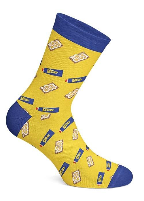 Swedish Fika Socks - Ägg & Kaviar