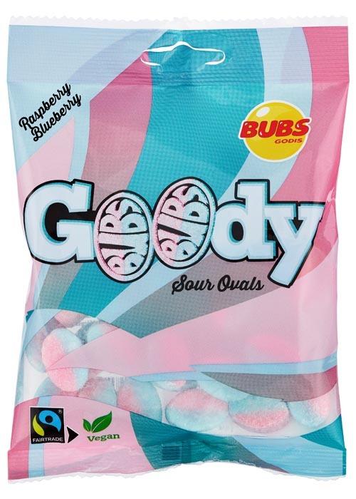BUBS Goody Raspberry/Blueberry 90g