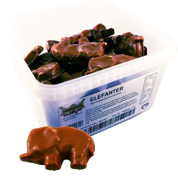 Chokladelefant - 1,1 kg