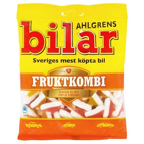 Ahlgrens Bilar Fruktkombi 125g /