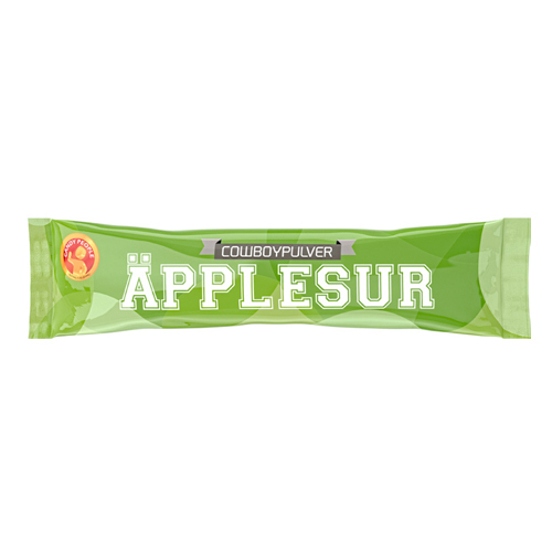 Cowboypulver Äpple - 2 kg /