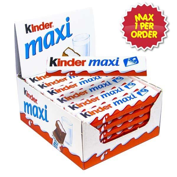 Kinder Maxi 36 st