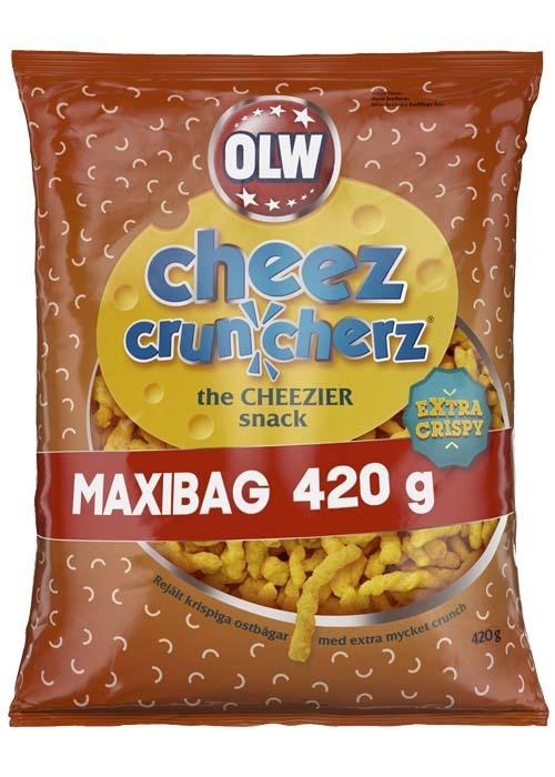 MAXIBAG - Cheez Cruncherz 420g