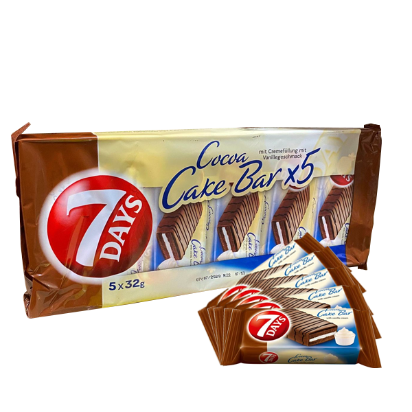 Cocoa Cake Bar 7 days - 5-pack