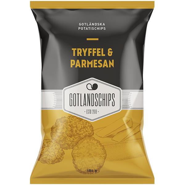 Gotlandschips Tryffel & Parmesan 180G