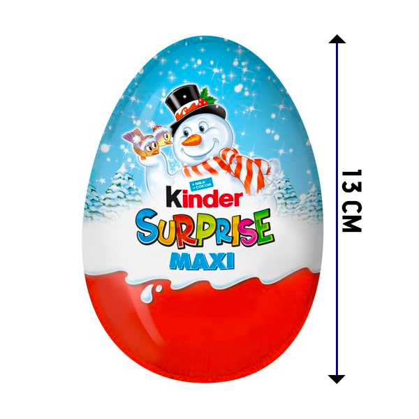 Kinder Maxi Ägg 100g Christmas