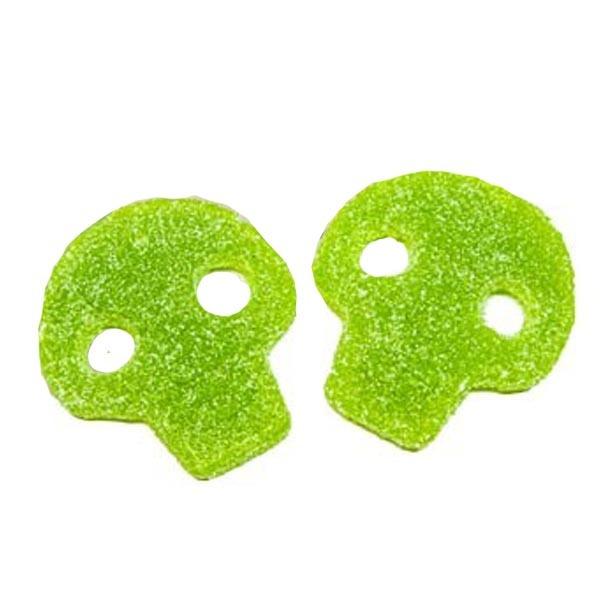 Dödskalle Grön sur - 1,8 kg /