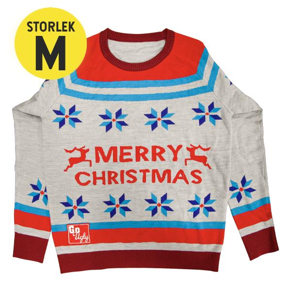 GoUgly Merry Christmas Sweatshirt M