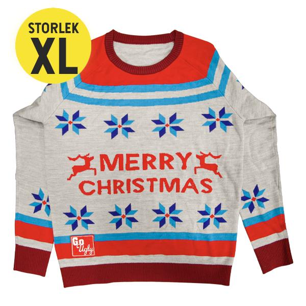 GoUgly Merry Christmas Sweatshirt XL
