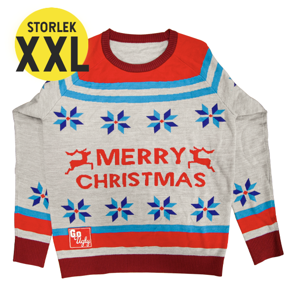 GoUgly Merry Christmas Sweatshirt XXL