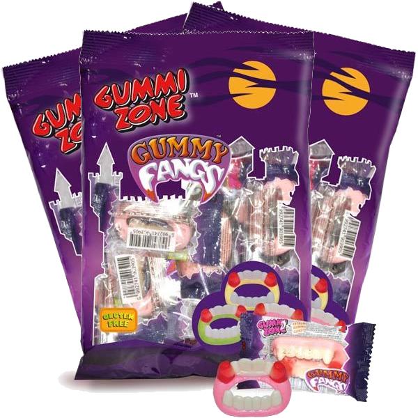 3st - Gummy Fangs Påsar 99g