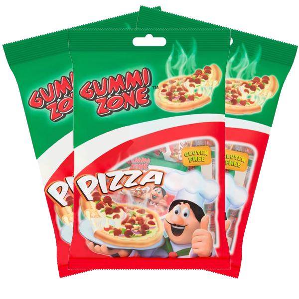 3st - Gummi Zone Pizza Påsar 99g