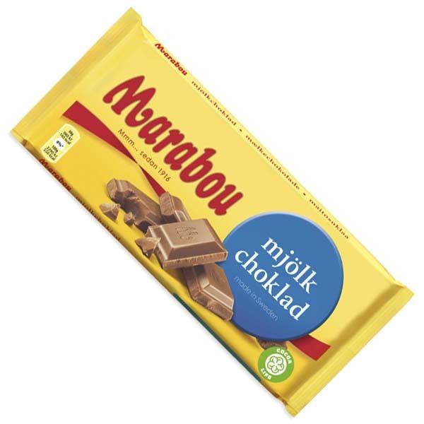 Marabou - Mjölkchoklad 200G