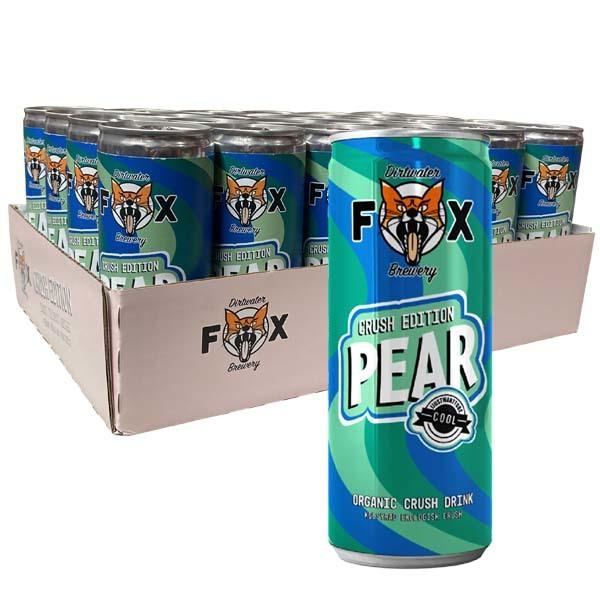 DIRTWATER FOX CRUSH PEAR 25CL x 24ST