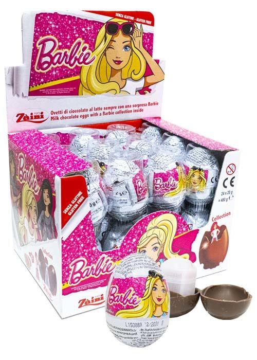 Barbie Chokladägg 20g x 24 st