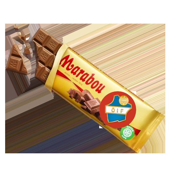 Östers IF Mjölkchoklad 100g