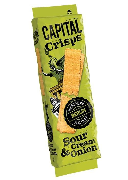 Capital Crisp Sour Cream & Onion 75g