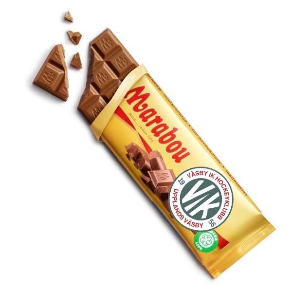 Väsby Hockey Mjölkchoklad 100g