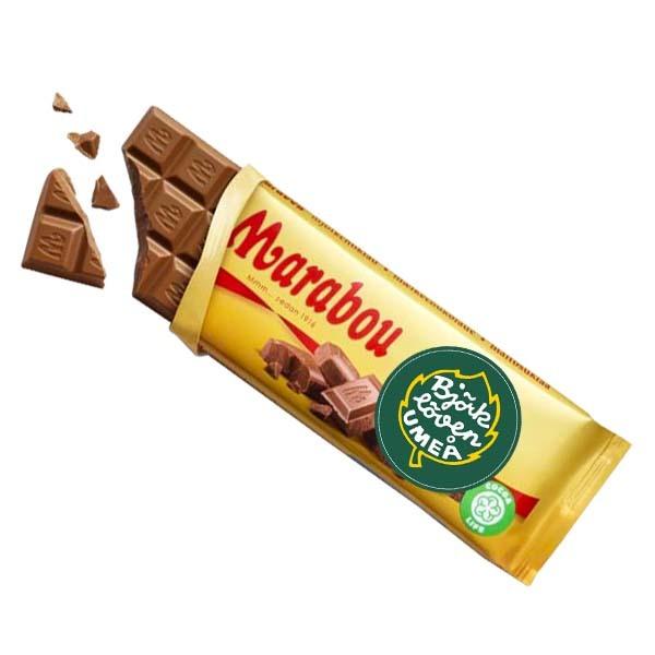 Björklöven Mjölkchoklad 100g