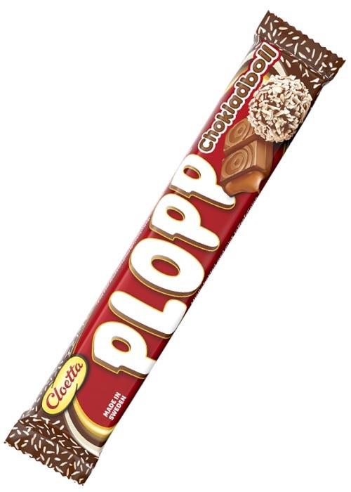 Plopp Chokladboll 50g