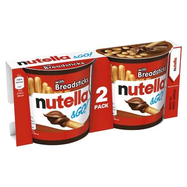 Nutella & GO 2-pack - 108g