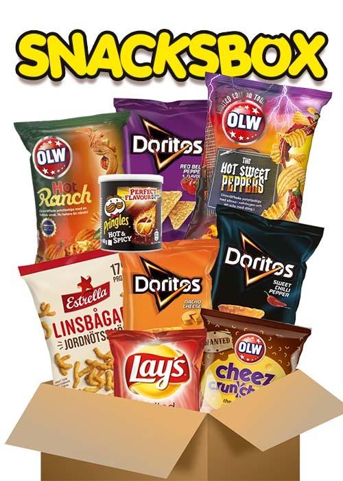 Snacksbox - 9 påsar