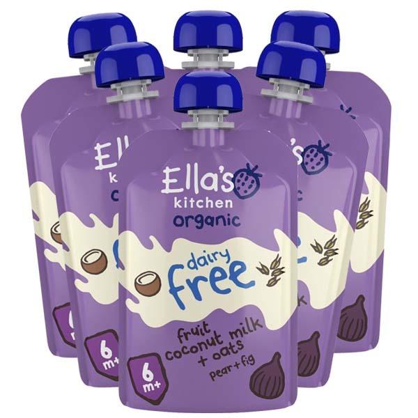 Ella's Fruit Coconut Milk 100g x 6 st