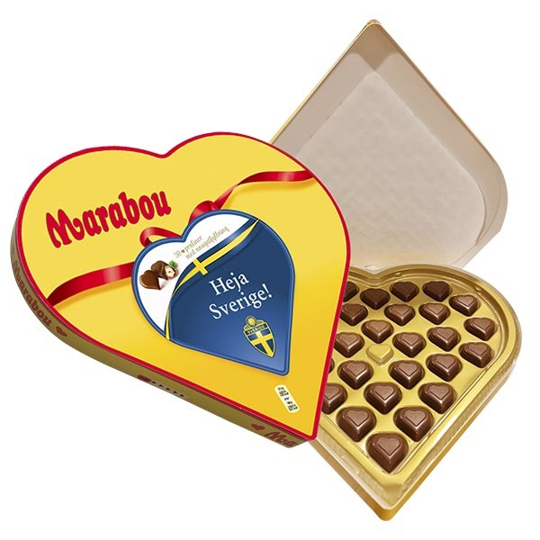 Sverige EM Hearts 165g