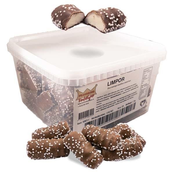 Chokladlimpor vaniljskum - 1,2 kg