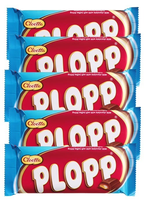 Plopp 80g x 5 st