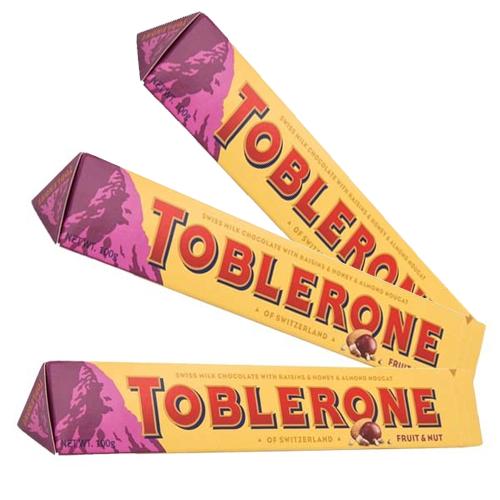 Toblerone Fruit & Nut 100g x 3 st