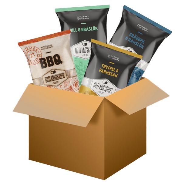 Limited Edition Gotlandschips boxen