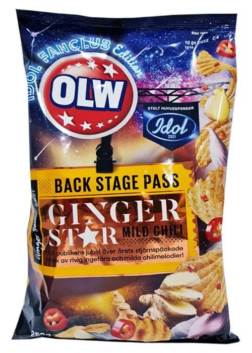 OLW Idol - Ingefära & mild chili 250g