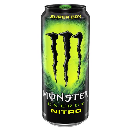 Monster Nitro Super Dry 50cl