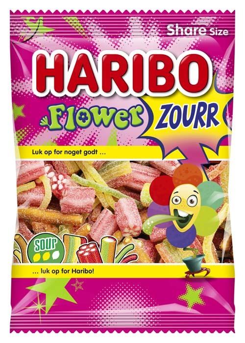 Haribo Flower Sour 250g