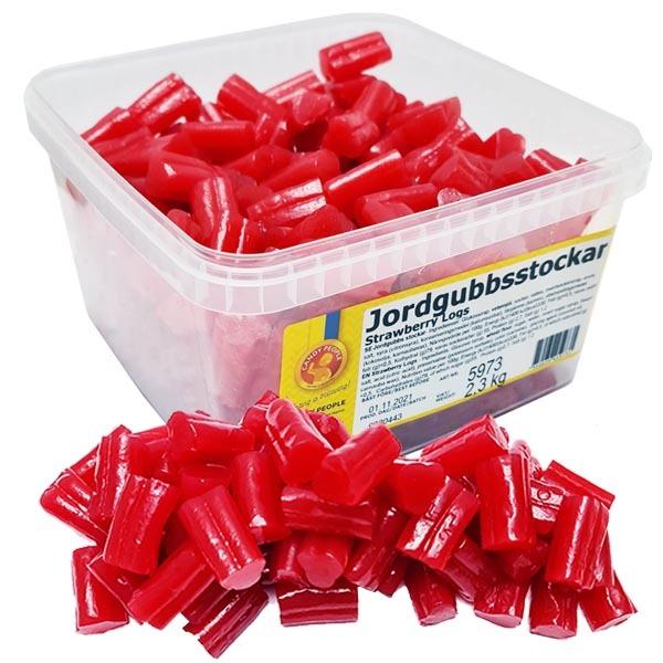 Candy People Jordgubbsstockar 2,3 kg