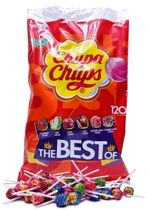 Chupa Chups Best of Bag 120 klubbor