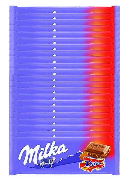 Milka Daim 100g x 22 st
