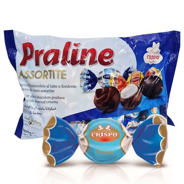 Crispo Praline Coconut 1 kg Värmeskadade