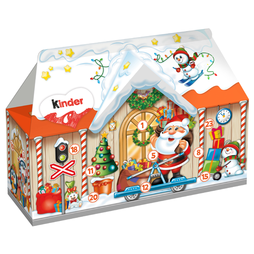 Kinder Calendar House 234g