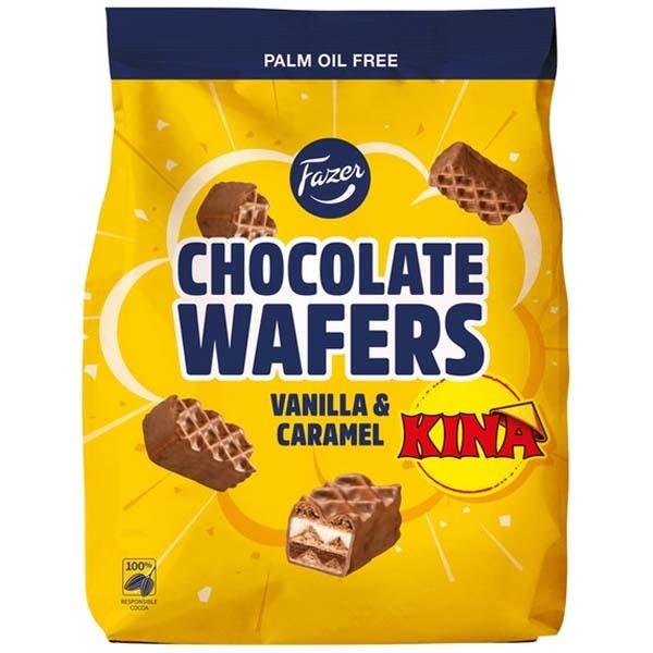 Fazer Chocolate Wafer Kina 175g